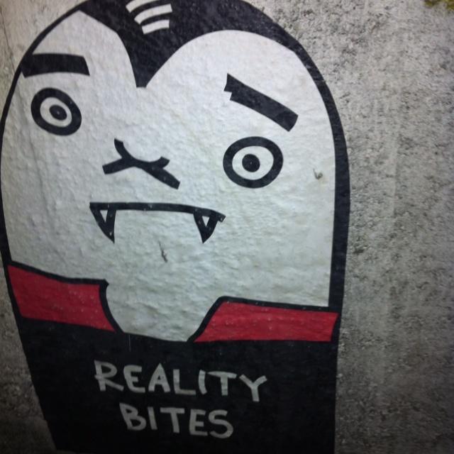 Street art / kissmama paste up