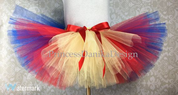 Do you have a school function you would like to dress up for or even a fun run 5k like the Zombie Run, Turkey Trot or a Color Run?! Then this tutu is for you!! This Tutu is perfect for many occasions including holidays, dance classes, photo props, dress up, birthday parties and so much more!  The tutu is made with 3 layers of soft tulle and is hand tied onto a premade crochet band which is very stretchy.  The tutu may appear small first out of the package but the waistband is super…