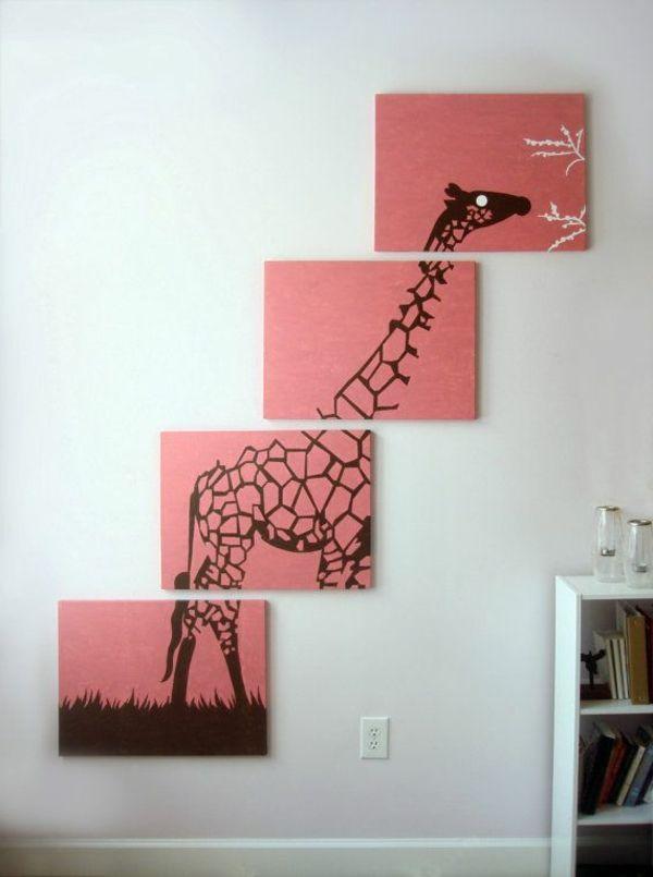 die besten 25 leinwand bemalen ideen auf pinterest. Black Bedroom Furniture Sets. Home Design Ideas
