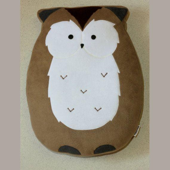 Owl Pillow 23.6 60cm   Plushie  Plush Pillow   Cute by Martilio