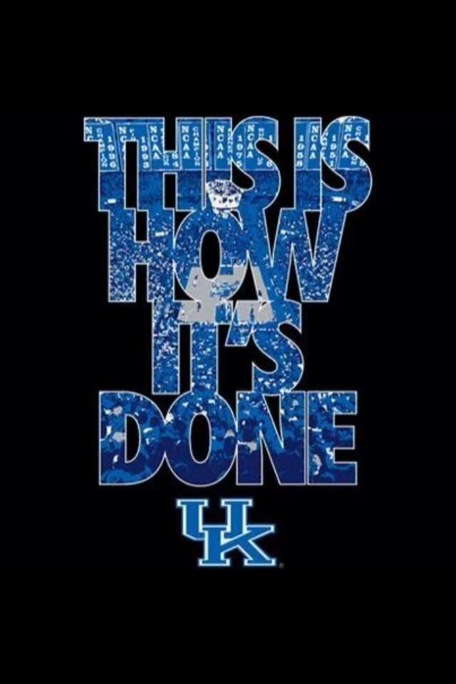 This is how it's done  Kentucky | Basketball | BBN | Go Cats | Go Big Blue!