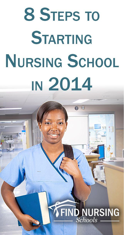 008 8 Steps to Starting Nursing School in 2014 School