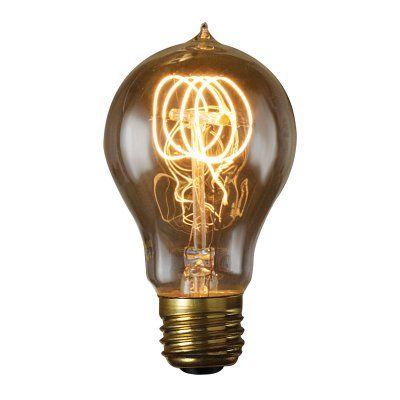 Bulbrite 60W Victorian Loop Filament A19 Incandescent Edison Light Bulb - 6 pk. - BULB562-1