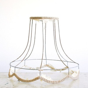 15 best wire lampshades images on pinterest wire lampshade wire lampshade frame greentooth Choice Image