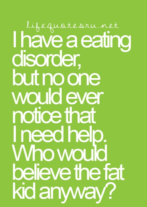 Image result for binge eating disorder quotes