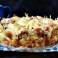 Zapiekanka chlebowa czyli jak wykorzystać czerstwe pieczywo