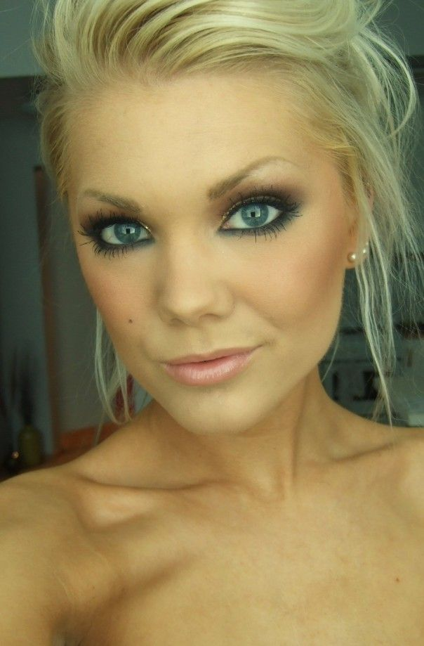 wedding makeup!: Eye Makeup, Makeup Ideas, Blue Eye, Gorgeous Makeup, Makeup Looks, Eyemakeup, Eye Make Up, Smokey Eye, Wedding Makeup