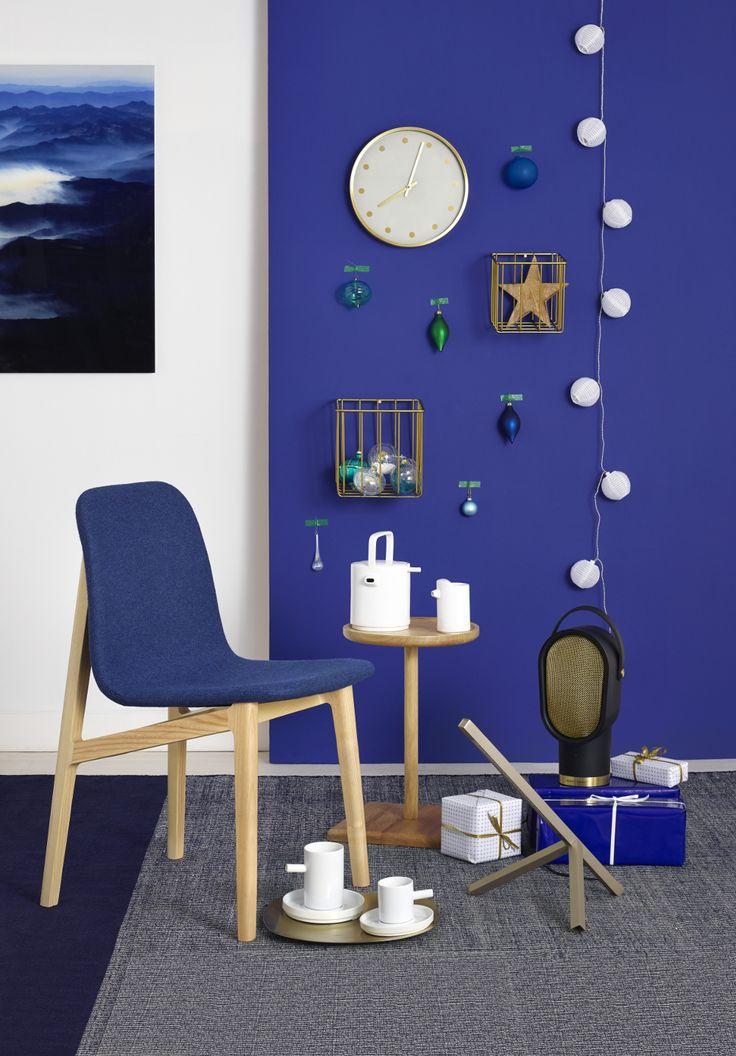 Habitat Catalogue | Navidad 2016 Beautiful blue wall
