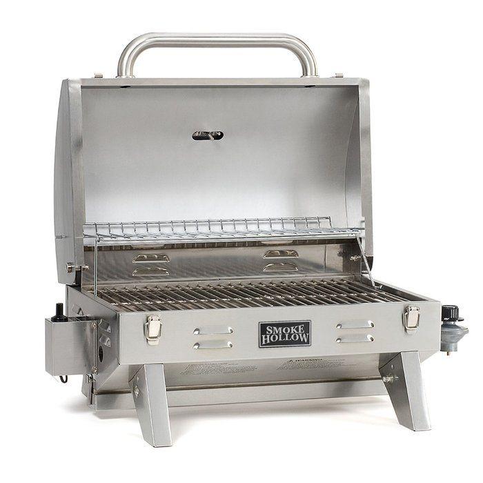 Smoke Hollow Portable 1 Burner Propane Gas Grill Gas Grill Portable Bbq Propane Grill