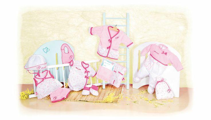 Abbigliamento per neonato http://www.borgione.it/Bambole/Accessori-per-bambole/Abbigliamento-per-neonato/ca_4245.html