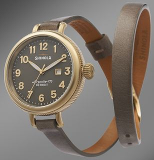 """Shinola Watches Made in Detroit - """"The Birdy"""""""