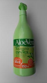 Hand and Body Cream with Aloe Vera. Instituto Espanol XL Size 950 ml