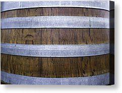 Durmast Barrel Canvas Print by Cesare Bargiggia
