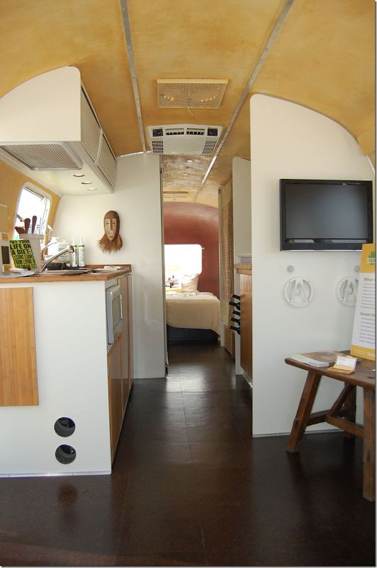 Zen style Airstream | RV Interiors | Pinterest | Airstream