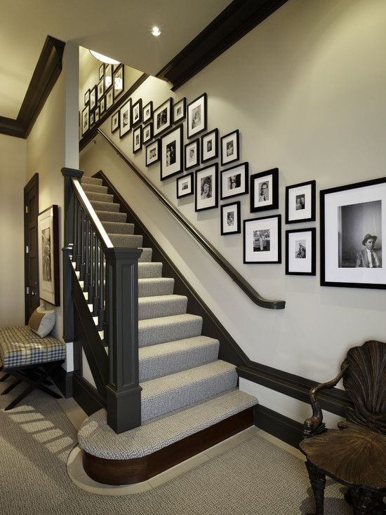 13 best Stairway Wall Decorating Ideas images on Pinterest