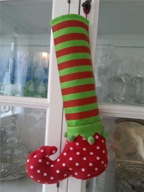 Ny Julstrumpa, jul,Tomtenissarnas strumpa,
