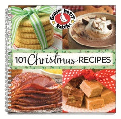Christmas Holiday Photo Recipe Cookbook - Dinners, Party Food, Cookie & Sweets A Gooseberry Patch Exclusive Country Kitchen Product With 101 Recipes - M789