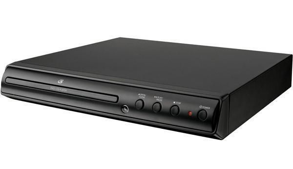 GPX Progressive Scan DVD CD Photo Player with Remote NTSC/PAL Black US Seller #GPX