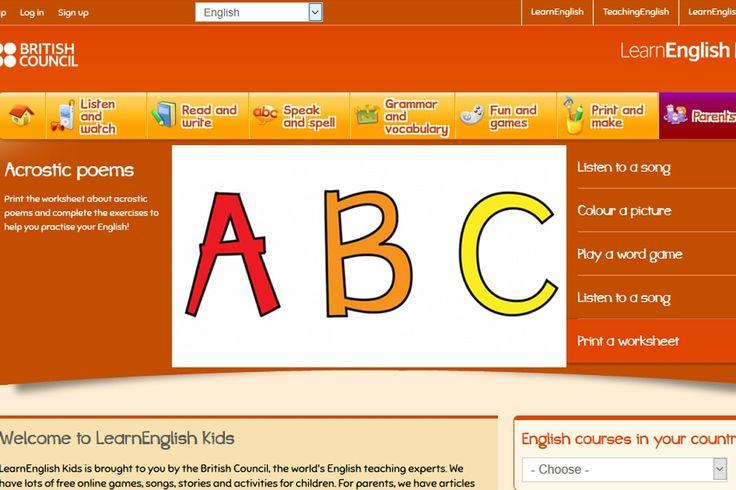 BRITISH COUNCIL dla DZIECI, czyli LEARNENGLISH KIDS