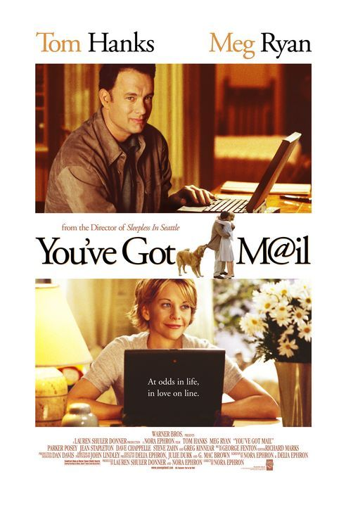 You've Got Mail = one of my all time favorites!!!