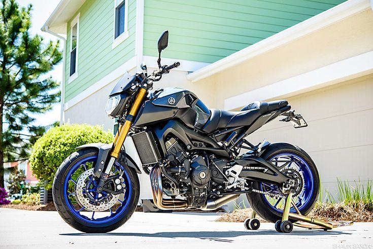 For Sale: 2014 Yamaha FZ-09 Project Bike!