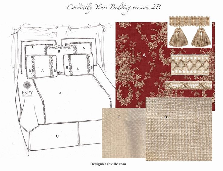 Cordially Yours Bedding Ensemble version 2B