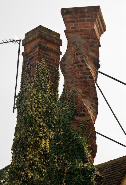 a twisted chimney - similar to Matthew's experiment at the Old Lodge? (This one is from Buckingham)