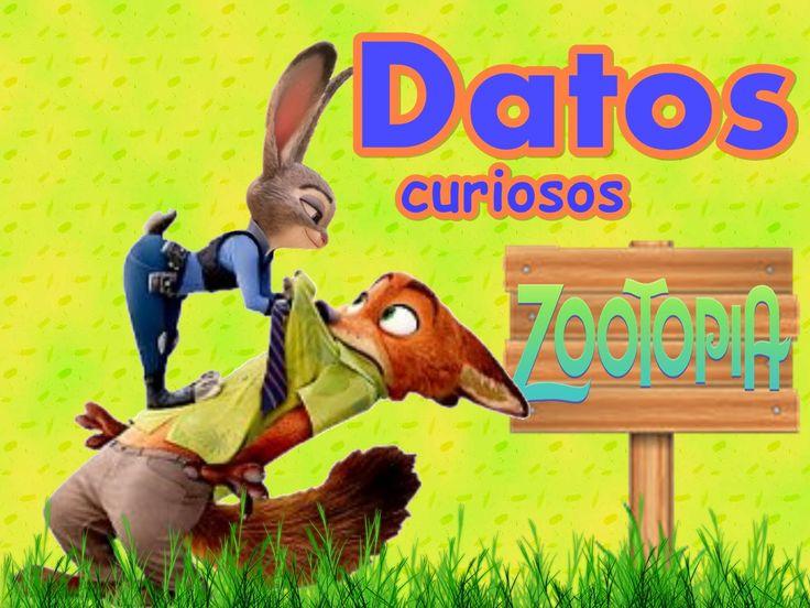 curiosidades y secretos de zootopia (zootropolis)