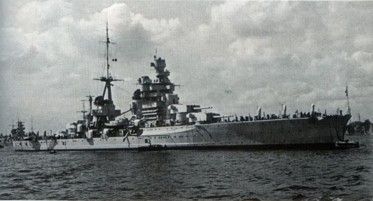 Gorizia heavy cruiser Italy