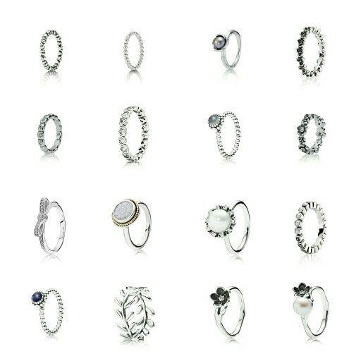#PANDORA #rings