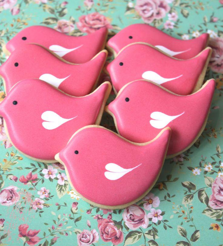 1000 Ideas About Bird Cookies On Pinterest Cookies