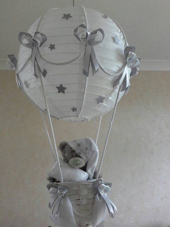 Hot Air Balloon Nursery Light Shade, Hot Air Balloon Lampshade