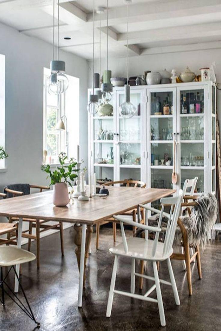 47 Scandinavian Dining Room Design Ideas Inspiration Dining