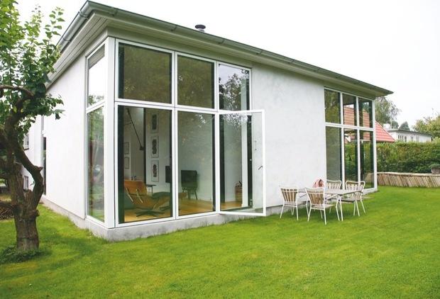 Et hus med masser af lys og glas - Bolig Magasinet