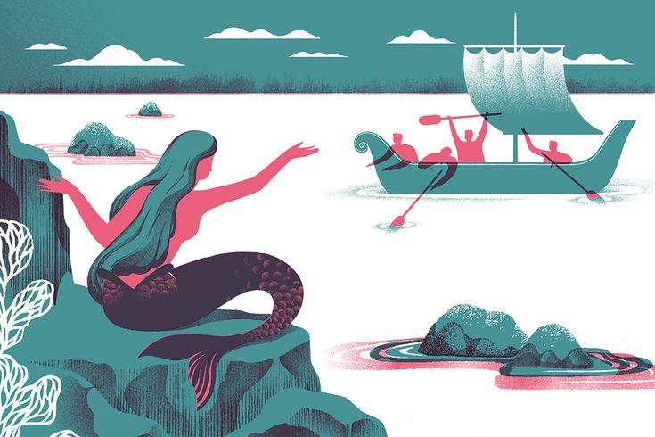 Marina Muun  Editorial illustration, Various topics