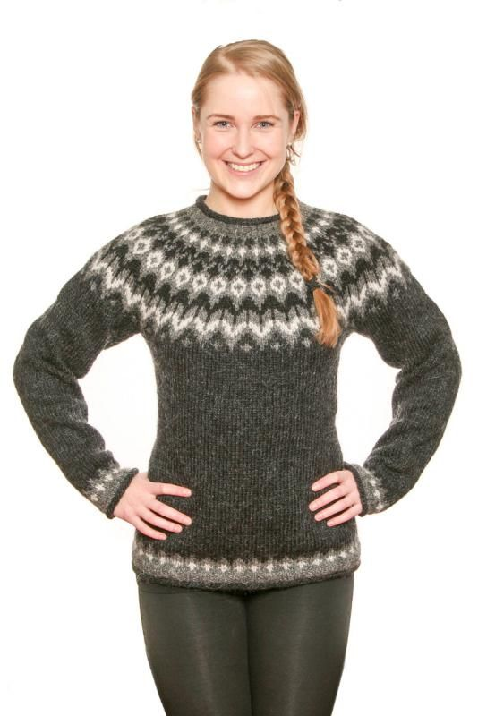 Icelandic Sweater - Traditional ( I have as cardigan