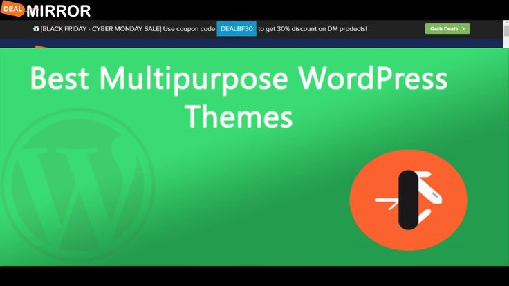 Here are the 10 Best Multipurpose WordPress Themes 2016. This list includes a few free themes, some premium themes, and a few others that offer free & paid versions.  If you need a versatile website template for your next project, you may check out this list of the most popular multipurpose WordPress themes.