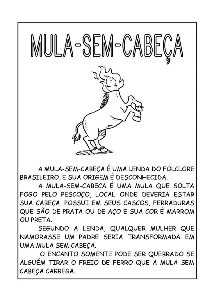 Alfabetizando com Mônica e Turma: Lendas Brasileiras