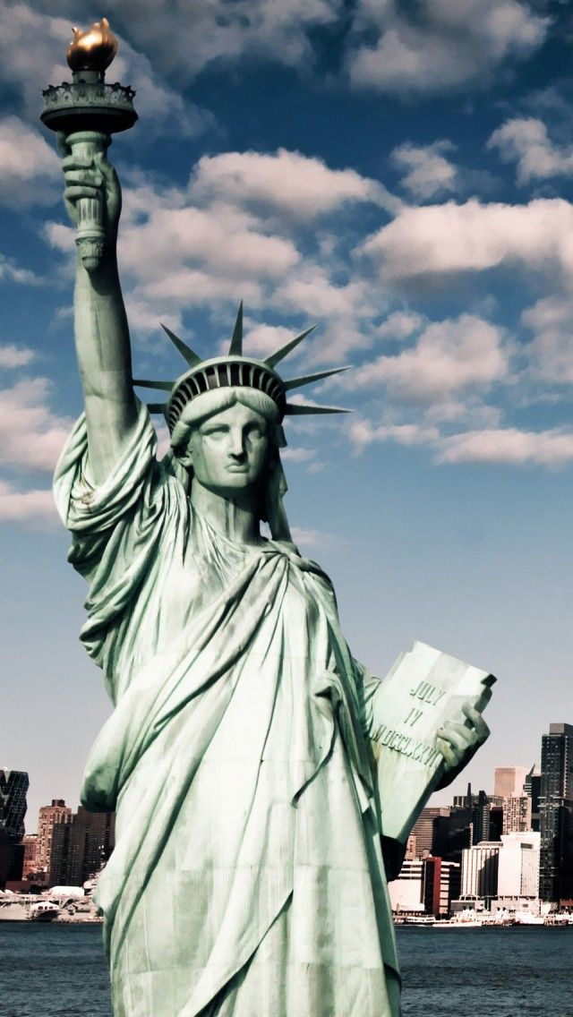 Go to Ney York City and visit the Statue Of Liberty