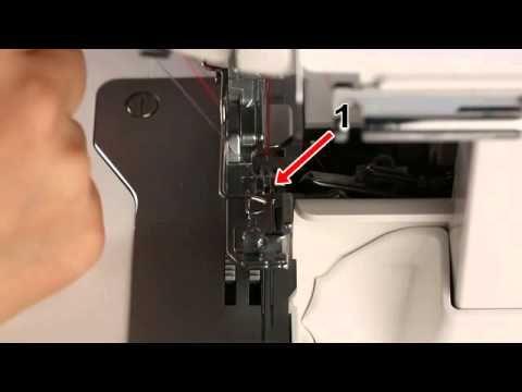 JUKI®Serger MO-Cording Presser Foot - YouTube