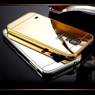 dubai® luxury erittäin ohut kiilto akryyli peili kansi takaisin pinnoitus metallirunko koko kehon asia Samsung Galaxy S5 – EUR € 18.99