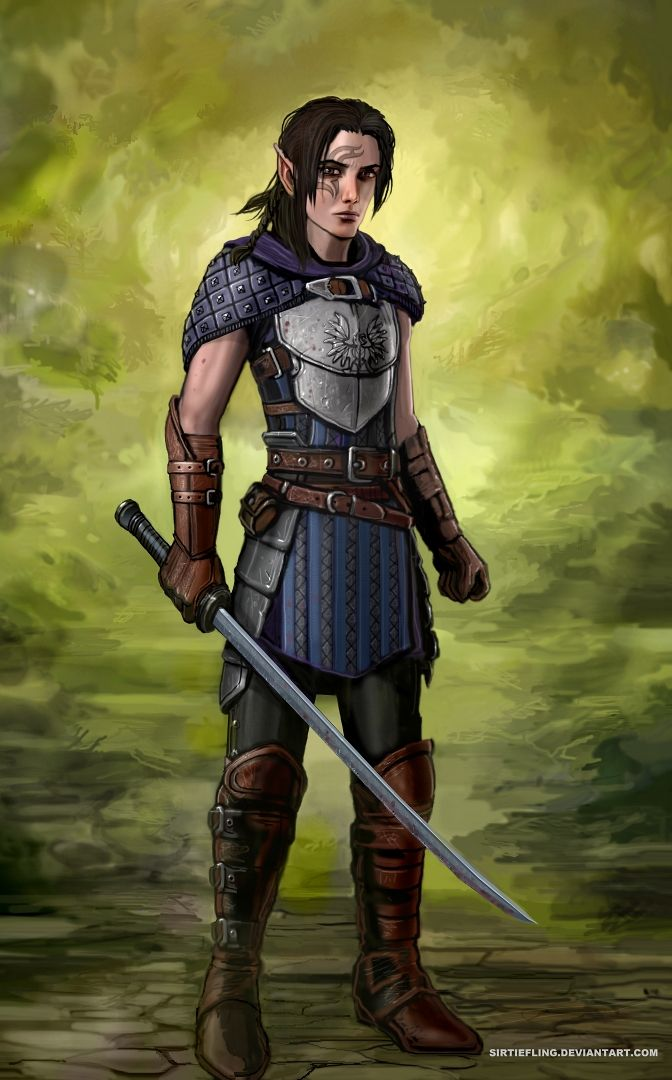Grey Warden by SirTiefling.deviantart.com on @deviantART