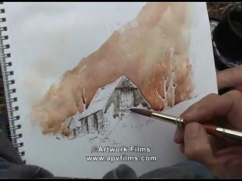 Wild Landscapes in Watercolour: David Bellamy - YouTube