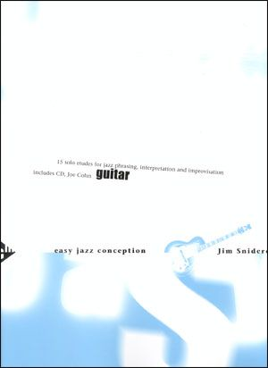 Jamey Aebersold Jazz: Easy Jazz Conception for Guitar