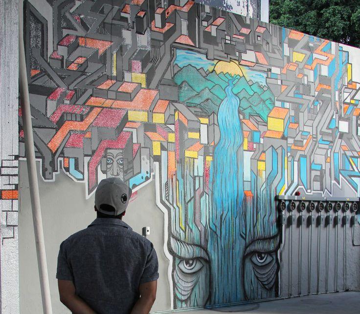 mister escobar mural artist artista plastico guadalajara jalisco mexico arte food truck park gdl mural