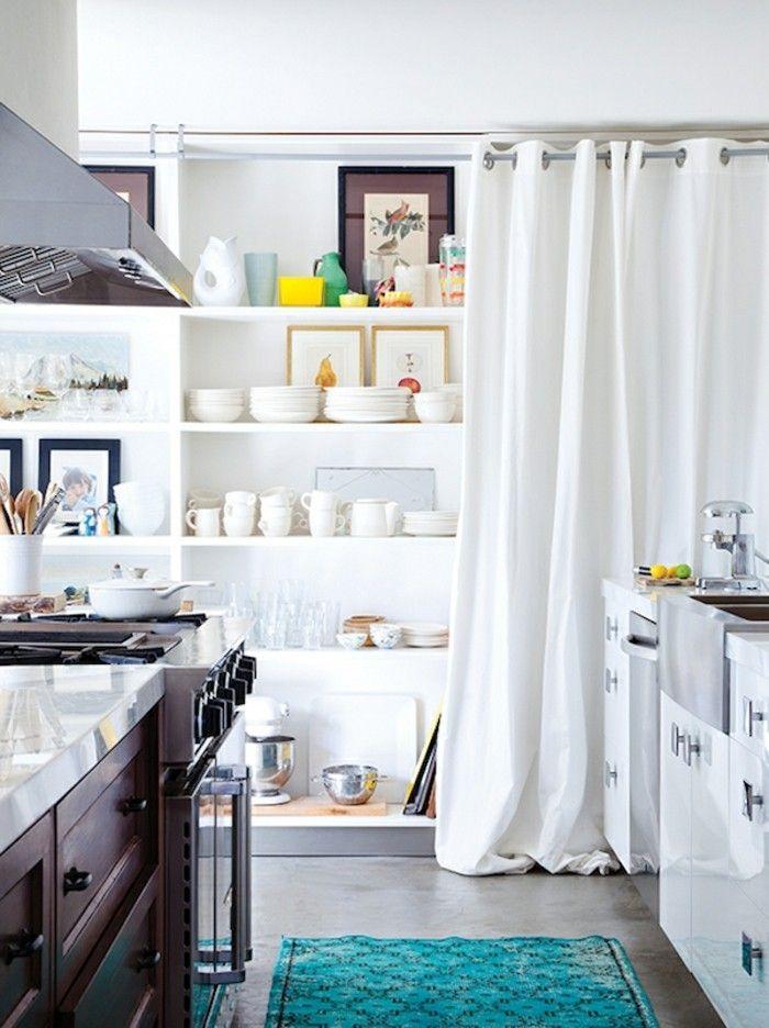Die besten 25+ Gardinen für küche modern Ideen auf Pinterest - moderne wohnzimmer gardinen