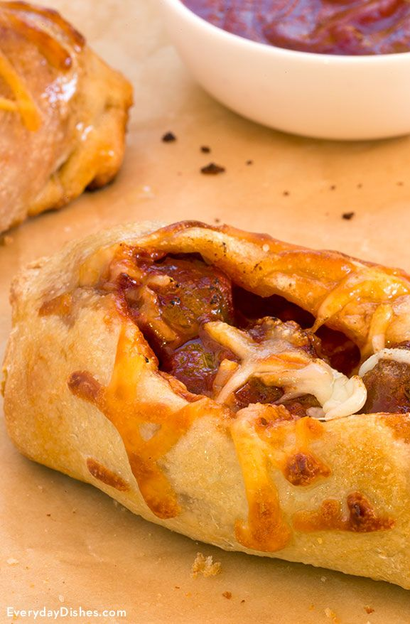 Baked meatball subs recipe
