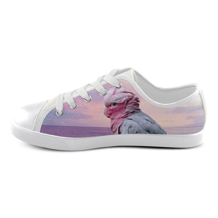 Galah Cockatoo Canvas Kid's Shoes