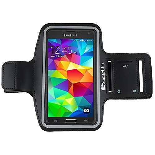 For Samsung Galaxy S5 S 5 SV / S5 ACTIVE 2014 smartphone Armband case - SumacLife Sports Armband for ALL Galaxy S5 (Black) on http://Thamica.com/for-samsung-galaxy-s5-s-5-sv-s5-active-2014-smartphone-armband-case-sumaclife-sports-armband-for-all-galaxy-s5-black/