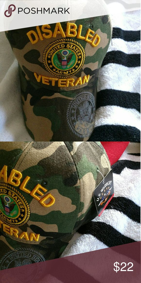 Disabled veteran hat Disabled veteran hat with all the bells and whistles Accessories Hats